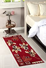 Maa Creation Traditional Design Bedside Runner/Rug/Passage Rug, 50 X 150 cm, Vascose, Soft, Best for Bedroom/Living Room/Passage