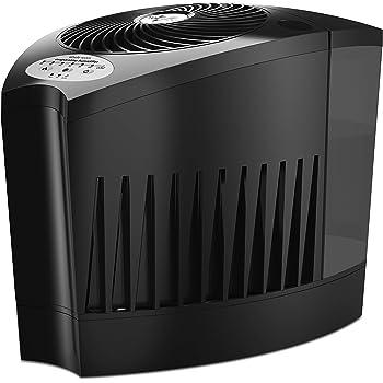 ボルネード 加湿器 サーキュレータ搭載 39畳 お手入れ簡単 6.7L 気化式 エバップ3 黒 EVAP3-JP-blk