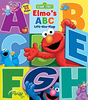 Sesame Street: Elmo's ABC Lift-The-Flap, Volume 29