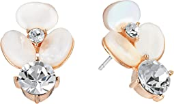 Kate Spade New York - Disco Pansy Drop Stud Earrings