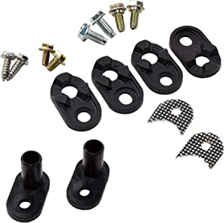HQRP Door Closer Kit works with Kenmore Sears 4318165 AP3103517 PS358690 WPW10329686 WP2182179 Refrigerator + Coater