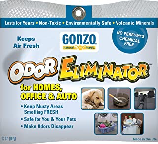Gonzo Odor Eliminator Rocks for Homes, Office & Auto