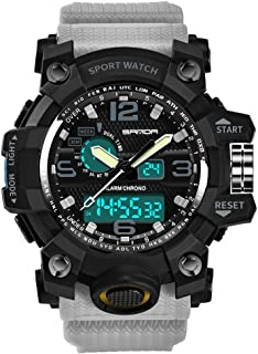 Sport Watch,Han Shi Luxury Electronic Waterproof Cold Light Casual Wristwatch