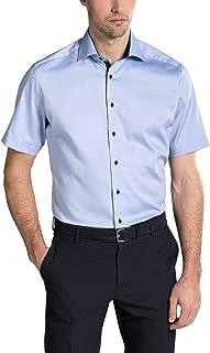 Eterna Half Sleeve Shirt Modern FIT Pinpoint uni