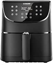 COSORI Smart WiFi Air Fryer 5.8QT(100 Recipes), Digital Touchscreen with 11 Cooking Presets for Air Frying, Roasting & Kee...