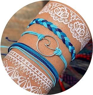 VSCO String Wave Bracelet Adjustable Friendship Bracelet Handcrafted Jewelry Women