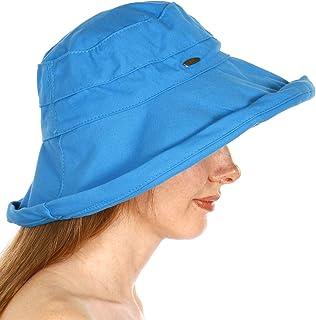 Bucket Hats for Women. Cotton Cloche Hats. Wide Brim Sun Hat. Foldable Packable