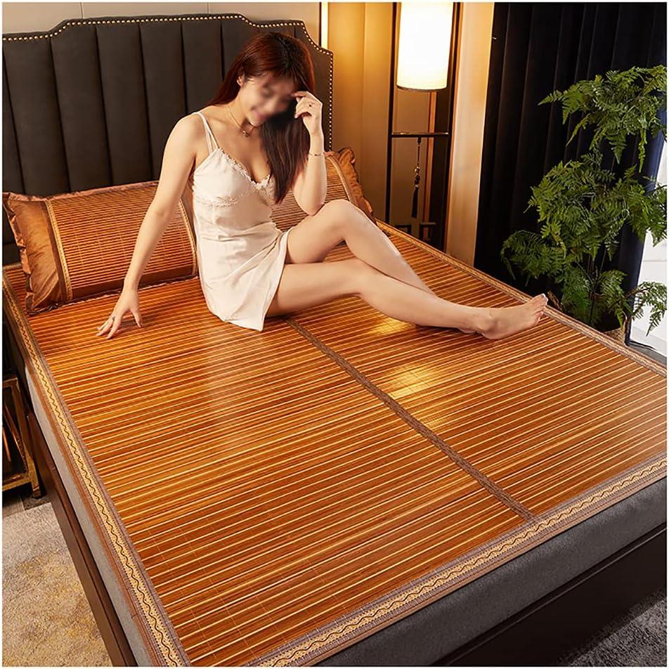 WANGF Bamboo mat Tulsa Mall Double Purpose Sing Rattan Summer Straw Genuine Free Shipping