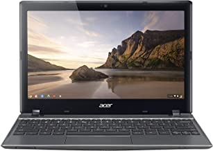 Acer C720-2844 11.6-inch Chromebook, Intel Celeron 2955U 1.4GHz, 4GB RAM, 16GB SSD (Renewed)