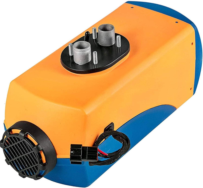 JALAL Calentador Aire diésel 5KW, Calentador estacionamiento diésel 24 V, Interruptor LCD, Control Remoto, Compatible con Camiones, Barcos, autobuses, automóviles, autocaravanas, vehículos