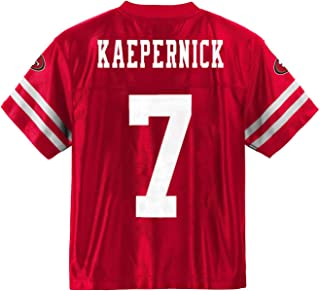 Colin Kaepernick San Francisco 49ers Red Home Player Jersey Youth