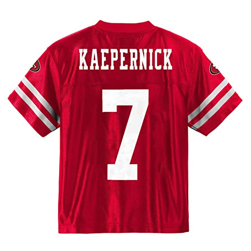 a4cf399b18a Colin Kaepernick San Francisco 49ers Red Home Player Jersey Youth