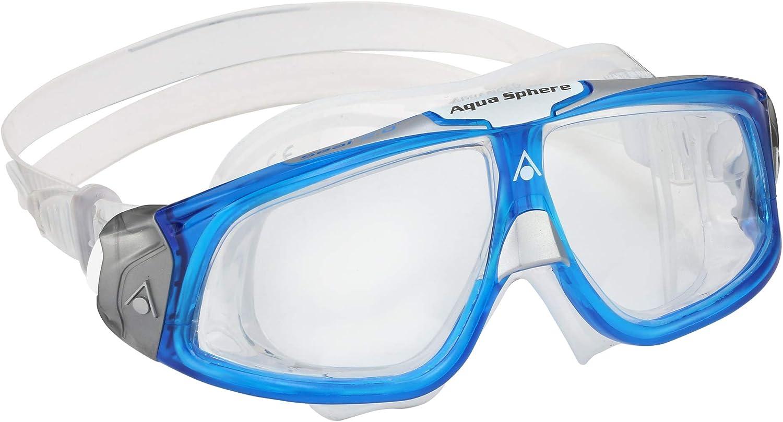 Aquasphere Unisex's Seal 2.0 Inexpensive Swimming Blue Goggle White Light Tucson Mall