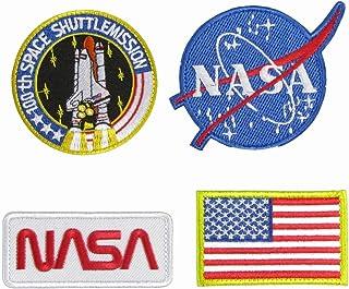 ベルクロワッペン NASA 4点セット パッチ (1)