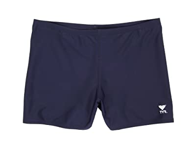 TYR Male Solid Square Leg (Navy) Men