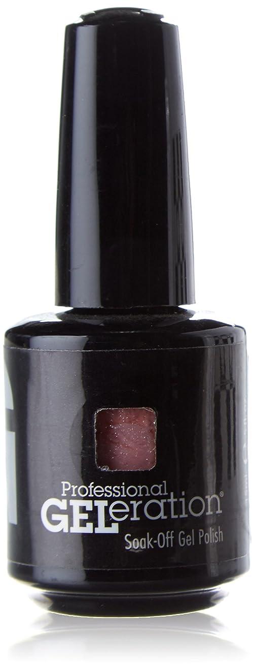 中央むさぼり食う昼寝ジェレレーションカラー GELERATION COLOURS 975 ピンクシャンパン 15ml UV/LED対応 ソークオフジェル