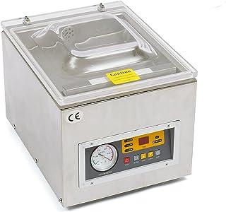 Envasadora al vacío de acero inoxidable industrial profesional DZ-260 120 W