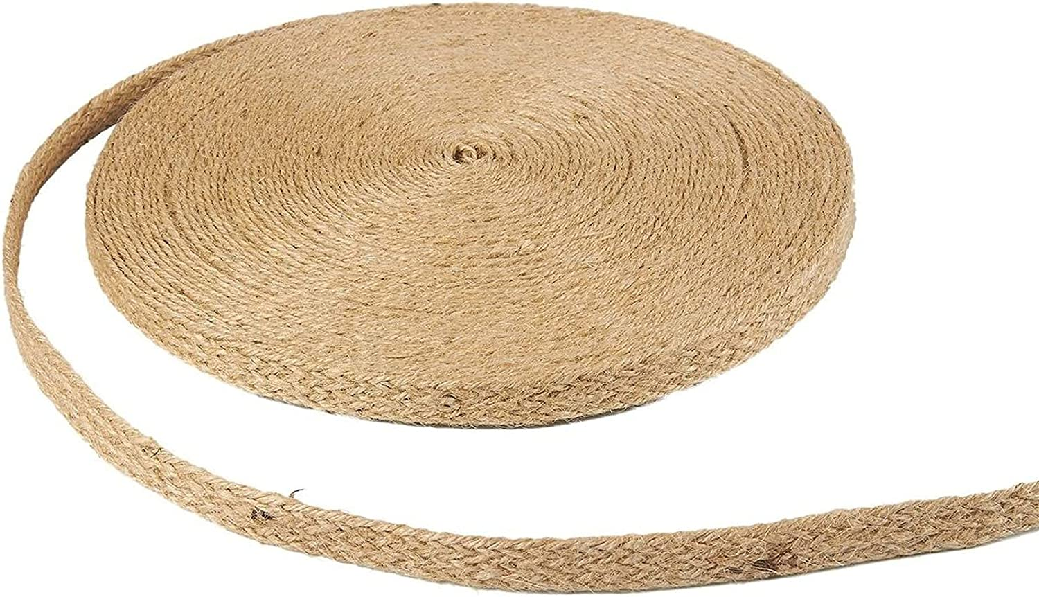Jute High order 5% OFF Ribbon Roll Burlap Upholstery Trim x 23 0.6 Yards Inches
