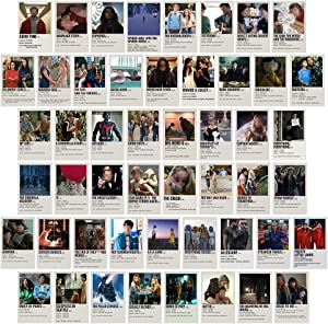 Movie Wall Collage Kit Poster Aesthetic Pictures, Photo Collection Collage Dorm Decor for Teens and Young Adults, Small Posters, Wall Prints Kit for Room Bedroom Aesthetic(Movie)