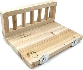 Alfie Pet - Spruce Wood Platform for Mouse, Chinchilla, Rat, Gerbil and Dwarf Hamster