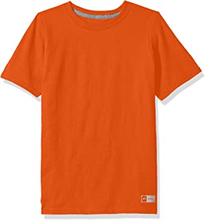 Big Boys' Cotton Performance Short Sleeve T-Shirt
