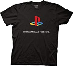 Sony Playstation Logo I Paused My Game to Be Here T-Shirt