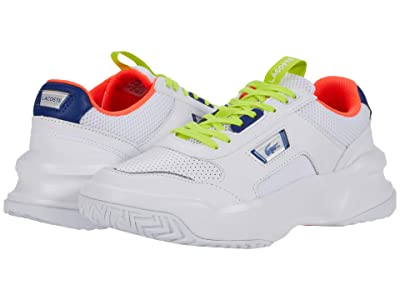 Lacoste Ace Lift 0120 1 (White/Dark Grey Blue) Men