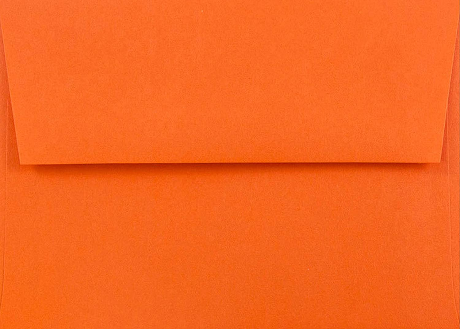 Pumpkin New York Mall Orange 50 Boxed Manufacturer direct delivery A2 4-3 8 Envelopes for 4-1 X x 5-3 4