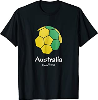 Australia Soccer Jersey Russia 2018 Football Team Fan Shirt