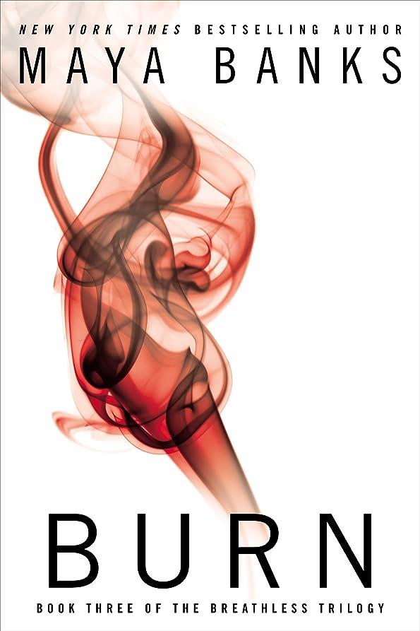 ブランド名プレーヤー文句を言うBurn (The Breathless Trilogy Book 3) (English Edition)