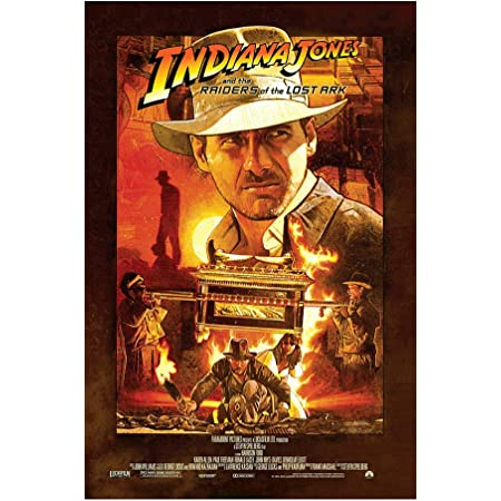 Indiana Jones Raiders Of The Lost Ark Movie Poster 11 X 17