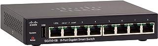 Cisco SG250 08 Gigabit Smart Switch mit 8Ports (SG250 08 K9 EU)