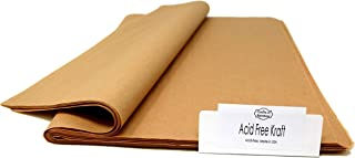 Kraft - Acid-Free Tissue Paper - 96 Sheets - 15 Inch x 20 Inch - Provide Long-Term Protection - Premium Quality | Colors o...