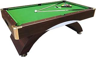 Mesa de billar juegos de billar pool 7 ft ANNIBALE VERDE Carambola Medición de 188 x 94 cm Nuevo Embalado Disponible