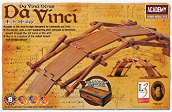 Leonardo da Vinci's wooden arch bridge