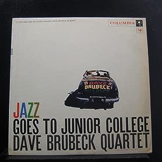 The Dave Brubeck Quartet - Jazz Goes To Junior College - Lp Vinyl Record