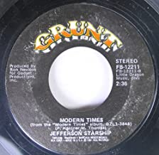 Jefferson Starship 45 RPM Modern Times / Find Your Way Back
