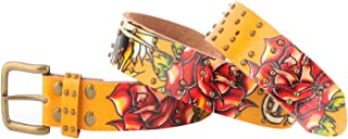 Ed Hardy EH3131 Open Mouth Tiger 女孩-皮带
