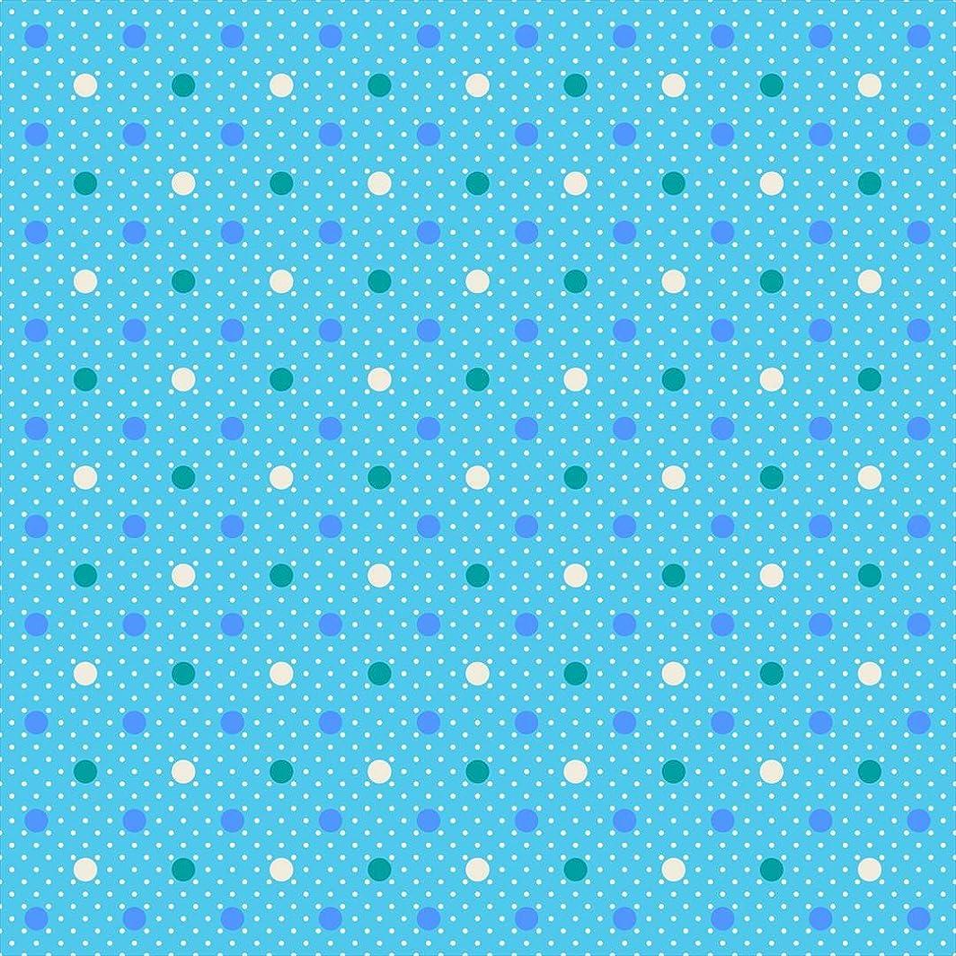 兵士愛人ポスター ウォールステッカー 正方形 シール式ステッカー 飾り 30×30cm Ssize 壁 インテリア おしゃれ 剥がせる wall sticker poster チェック?ボーダー 水色 水玉 模様 008659