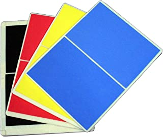 Ace Martial Arts Supply Rebreakable Board Taekwondo, MMA, Karate-Set, Yellow, Blue, Red & Black