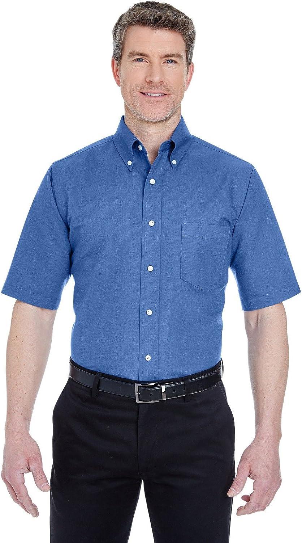 UltraClub 8972T UC SS Oxford Dress Shirt