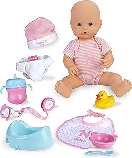 Nenuco Sara - Muñeca Bebé cuidados 11 funciones (Famosa