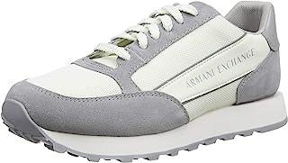 ARMANI EXCHANGE Suede Bicolor Sneakers, Scarpe da Ginnastica Uomo