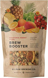 Kombucha.com Equatorial Energy Elixir Brew Booster – Premium Botanical Kombucha Flavoring Blend for Home Brewed Kombucha, ...