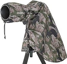 Matin Digital SLR Camera Rain Cover Camouflage - Large