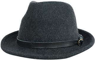 Bebro 帽子 メンズ キッズ 中折れ フェルト ハット 秋冬帽子 WOOL100% ウール帽子 NH500