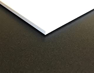 Expanded PVC Sheet – Lightweight Rigid Foam – 6mm (1/4 inch) – 12 x 12 inches – White – Ideal for Signage, Displays, and Digital/Screen Printing