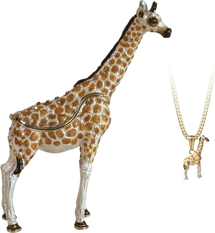 Popular shop is the lowest price 5 popular challenge Arora Secrets from Hidden Treasures Giraffe Box 1084 Trinket He