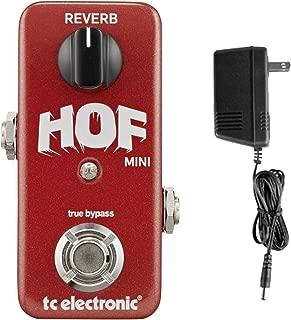 TC Electronics Hall of Fame Mini Reverb HOF w/ 9V Power Supply