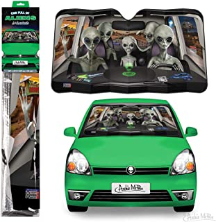 Archie McPhee Auto Full of Aliens Auto Travel Zubehör Windschutzscheibe Sonnenschutz